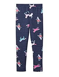 Joules Jersey Printed Leggings - French Navy Sea Pony