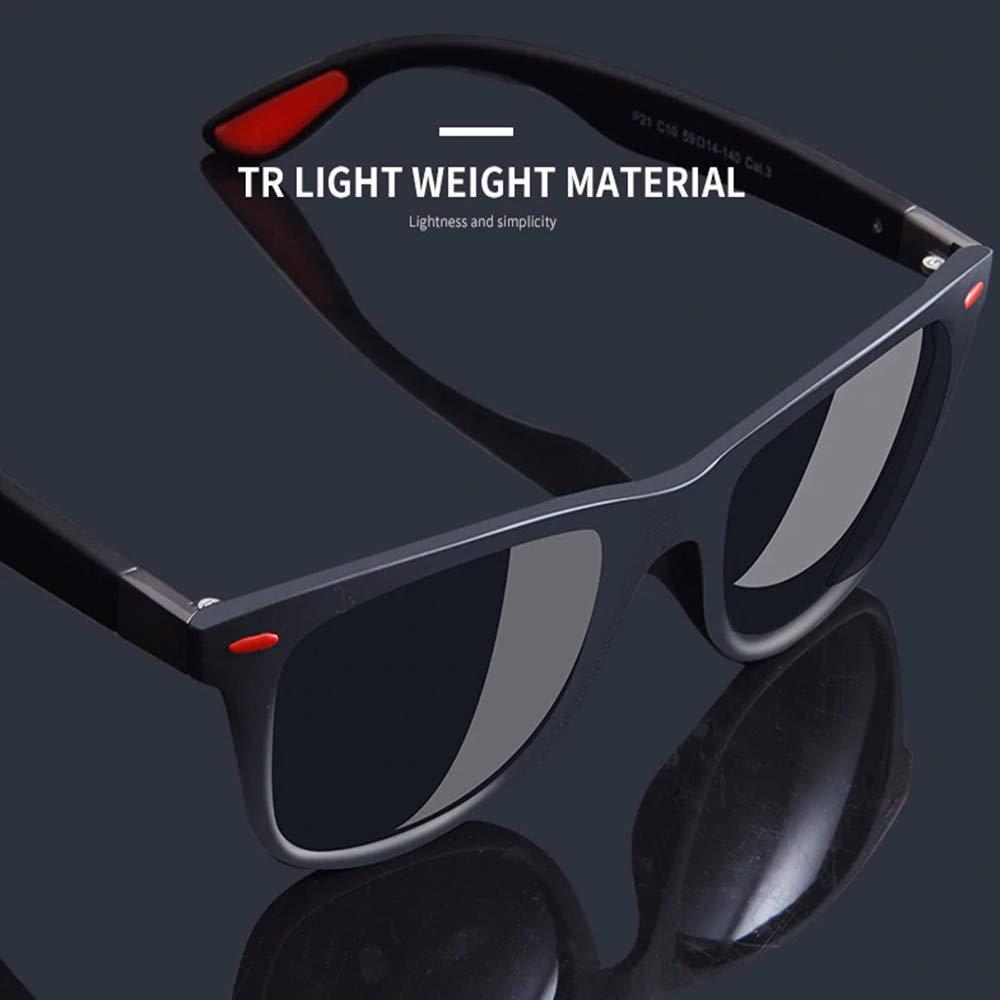 Yunlong Driving Polarized Sunglasses for Men Aluminum Mens Sunglasses Driving Rectangular Sun Glasses For Men/Women (Blue Grey)