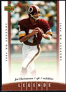 Football NFL 2006 Upper Deck Legends #25 Joe Theismann NM-MT Redskins