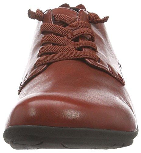 Mujer Zapatos para 396 Seibel Rojo Rojo Cordones Derby Josef de 72523971 xtq081AnnF