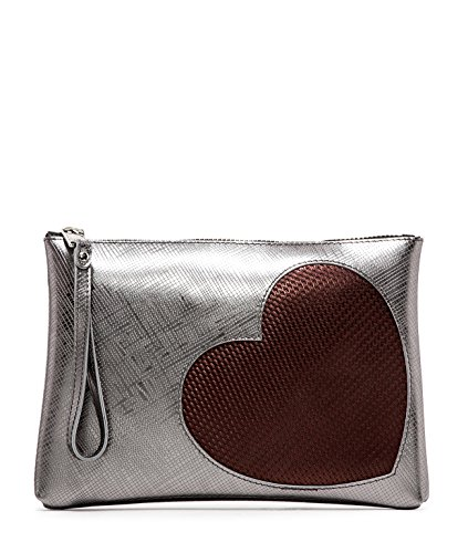 POCHETTE GUM NUMBERS 4052 INT.LM PERLA MIS. MEDIA IRON - MADE IN ITALY