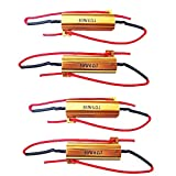 Etopars™ 4Pcs Car Load Resistor 50w 6ohm Fix Bulb Hyper Flash Turn Signal Blinker