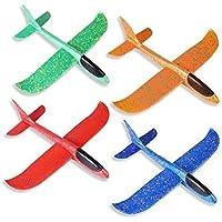 Zweefvliegtuigen Voor Kinderen,Piepschuimvliegtuig 4 Stuks, Schuimvliegtuig,Speelgoedvliegtuig,Handmatig Werpvliegtuig…