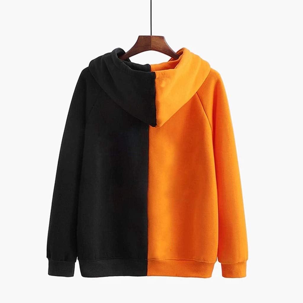 Sweatshirts for Women Hoodie Pullover,Dainzuy Hooded Long Sleeve Halloween Pullovers Sweatshirt Tops with Pockets
