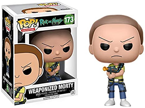 Funko 12440 Rick & Morty: Weaponized Morty - Figurina de vinilo