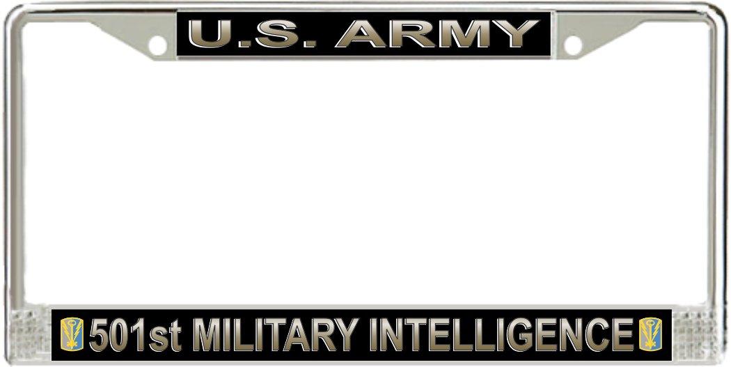 US Army 501st Military intelligence Brigade Nummernschild Rahmen ...