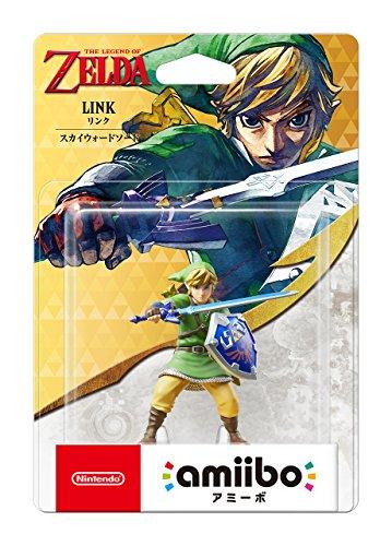 Nintendo amiibo Link - espada hacia el cielo (Serie: La leyenda de Zelda) Importación de Japón