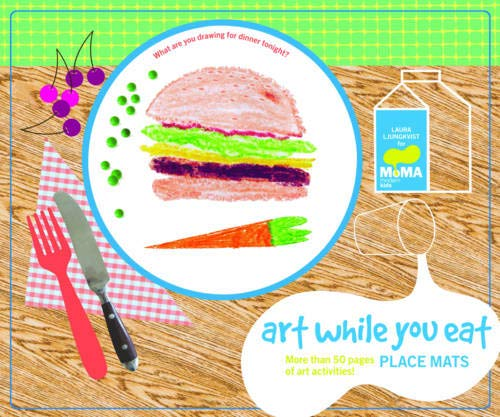 MoMA Art While You Eat Place Mats