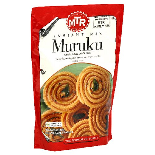 MTR Muruku Instant Dry Mix, 17.6-Ounce Boxes (Pack of 30) by MTR