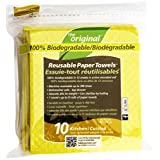 The Original Reusable Paper Towels for Kitchen, 10 Count