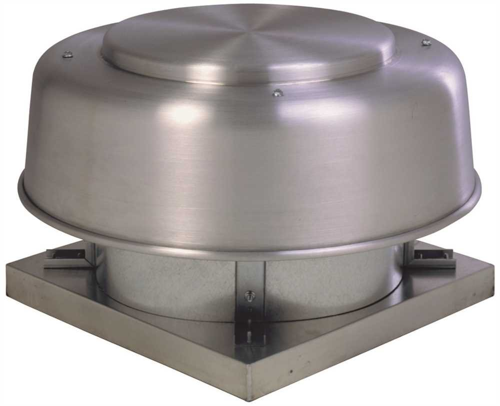 Fantech 5ADE16EA Direct Drive Axial Exhaust Roof Vent, 16'', 2767 CFM, 3/4 hp, 115V, ODP