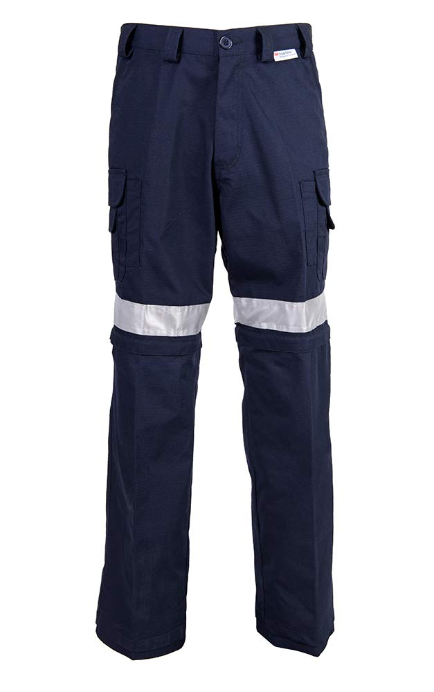 CoolWorks - Convertible Ventilated Work Pants, Hi Vis (34X32)