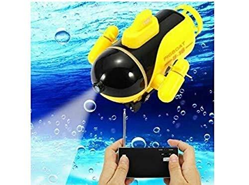 Underwater Drone Mini RC HD Underwater Camera Drone with FPV (Blue)