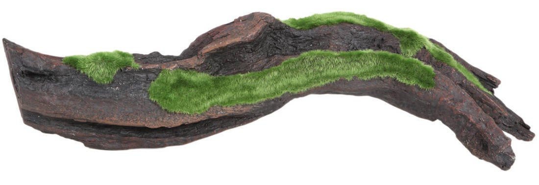 17\ Fluval 11831 Décor Black Root with Moss, 17-Inch by 5.7-Inch by 4-Inch