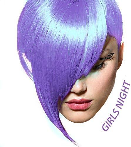 Girls Night, semi-permanentes tinte para el cabello en colores pastel de lavanda púrpura - 118 ml - Fox ártico