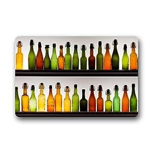 Generic botellas de cerveza Felpudo (23.6por 15.7-inch)