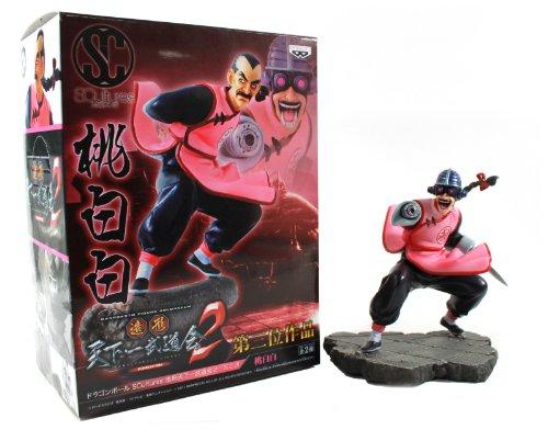 "Banpresto Dragon Ball Scultures Zoukei Tenkaichi Budoukai 2 Mercenary Tao Pai Pai 6"" Figure"