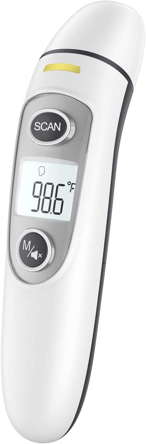 Infrared Thermometer for Adults,Forehead and Ear