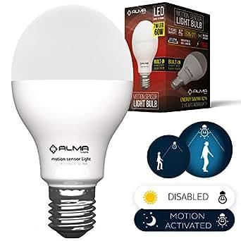 Motion Sensor Light Bulb Motion Activated Led Light Bulb