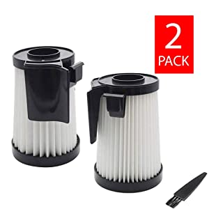 GoldTone Replacement DCF-10 & DCF-14 HEPA Vacuum Filter for Eureka Optima Fits Any 430 Series Upright Vacuum Cleaner Replaces DCF14 DCF10 62396 62731 (2 Pack)