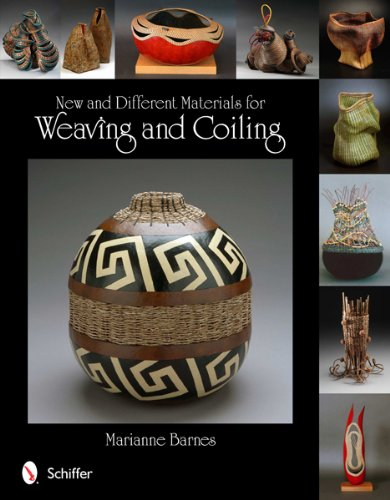 New and Different Materials for Weaving and (New Weave Baskets)