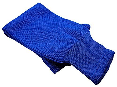 "Hockey Socks Knit Made in Canada for Hockey Players (Senior 32"", 15 Blue)"