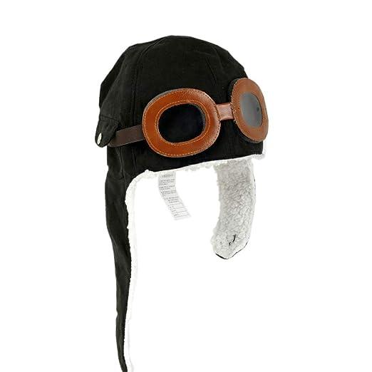 883d6382a01f7 Amazon.com: Baby Children Winter Ear Flap Pilot Cap Aviator Hat ...