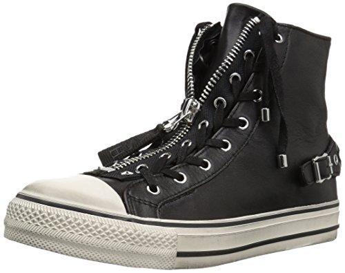 Ash Women's As-Venus Sneaker Black/Off White NAkkK4