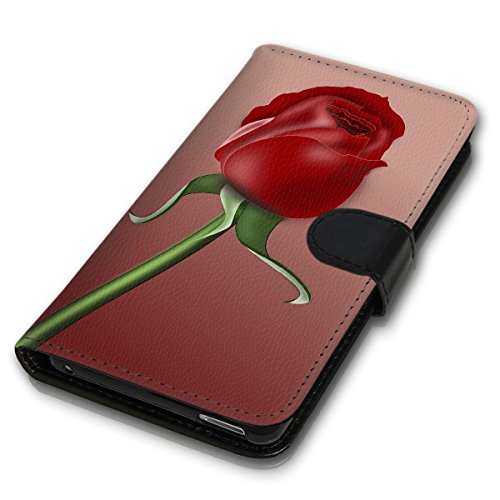 Wallet Book Style Flip Handy Tasche Case Schutz Hülle Schale Motiv Etui für Apple iPhone 6 Plus / 6S Plus - Design Flip MV74