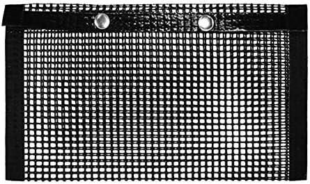 PTFE Antihaft-Grillgitter-Grillbeutel Hochtemperatur-Grillbackmatte Kochmatten , 22 * 17 cm (S)