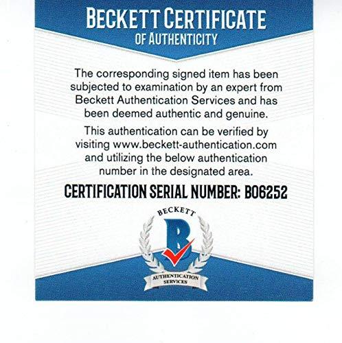 John Wooden signed 4x6 print BECKETT (BAS) authenticated UCLA Coach autograph