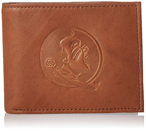 Credit State Card Florida (NCAA Florida State Seminoles Embossed Genuine Leather Billfold Wallet)