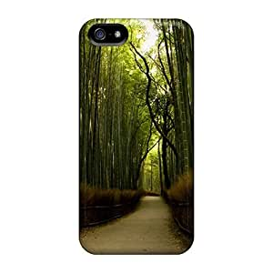 Snap-on Bamboo Forest Case Cover Skin Compatible With Iphone 5/5s