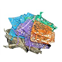 Heng Heng - 50 pcs Organza Jewelry Candy Pendent Mixed Color Mini