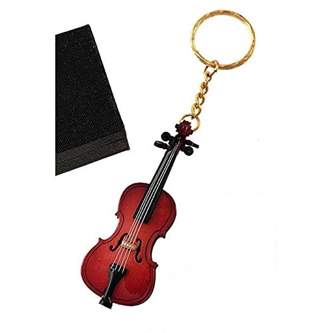 CIAF. 2503-25352-clés en bois « Violon » 8 cm dans le cas.