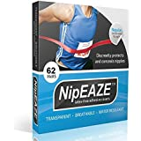 NipEaze – Lot de 4 Valeur – The Original Protection Nip Transparent – Mamelon frottements Prevention – Ultra-Marathon Course à Pied Gear