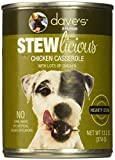 Dave's Stewlicious Chicken Casserole For Dogs, 13.2 oz Can (Case of 12)