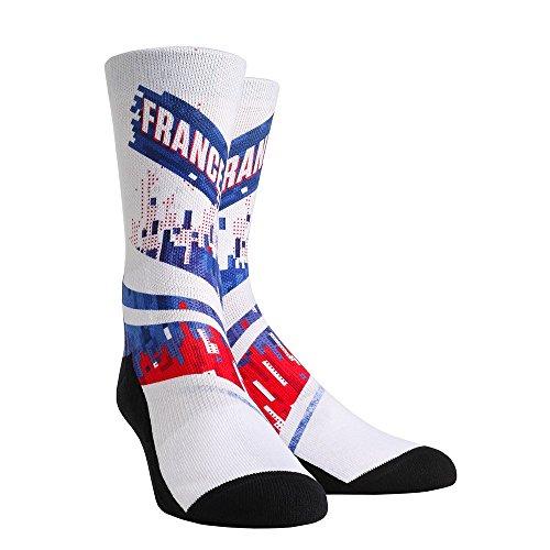 (Rock 'Em International Country Flag Socks (Women's, France - Global Glitch) )
