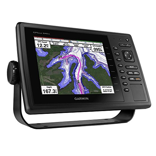 Garmin 010 01181 02 Gpsmap 840Xs With Downv  No 252 Transducer