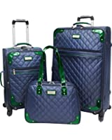 Travelers Choice  Beverly Hills Country Club 3 Piece Quilted Spinner Collection