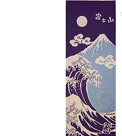 Shinobiya Toalla de cocina japonesa Tenugui Tsunami