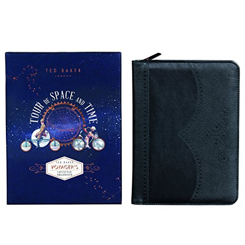 Ted Baker Planner and Lifestyle Organizer, Black (Lifestyle Carrying Case)