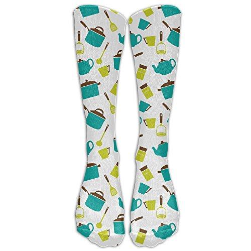 JRGXGD Kitchen Utensils Crockery Women Girls Customize Novel 40cm Long Socks ()
