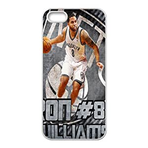 Brooklyn Nets NBA White Phone Case for iPhone 5S Case