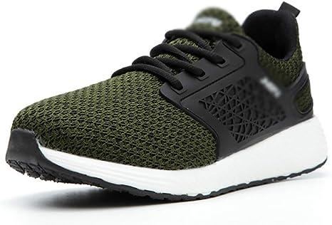 Zapatos de seguridad Ligera Flying tejida Entrenamiento de Seguridad (CE / Certificación ASTM) Con Ensanchamiento 4E Europea Cabeza de acero estándar, Kevlar + MD antipinchazo Zapatos de aislamiento a: Amazon.es: Hogar