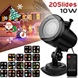 Best christma tree light - Syslux Christmas Projector Lights, 10W 16 Excluxive Design Review
