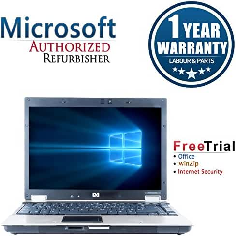 HP EliteBook 6930p 14 Inch Business High Performance Laptop Computer(Intel Core 2 Duo P8400 2.26GHz Duo Core, 2G RAM DDR2, 100G HDD, DVD-ROM, Windows 10 Home Premium)(Certified Refurbished)