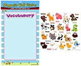American Educational Products MAG-109 Animals Vocabulary Magnetic Wall Sticker