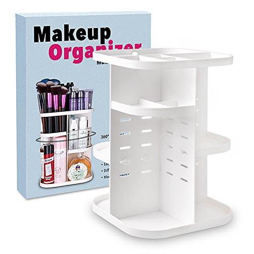 Organisateur de maquillage rotatif Terresa 360, rangement cosmétique ...