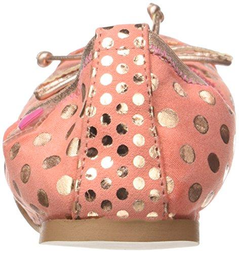 Agatha Ruiz De La Prada Damen Pica Ballerinas Orange (Coral Y Estampado Lunares)